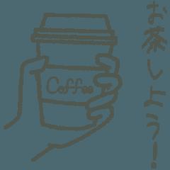 チョークアート【カフェver.】