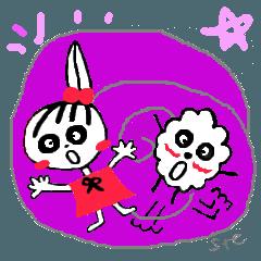はじけるRingoちゃん&プップ
