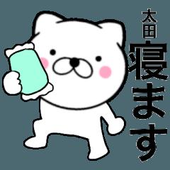 【太田】が使う主婦が作ったデカ文字ネコ