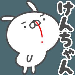 あおいぷん★けんちゃん★専用うさぎ☆鼻血