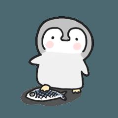 [LINEスタンプ] リラックスペンギン