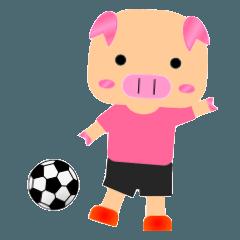 サッカーブタブーブー