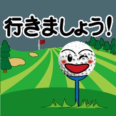 ゴルフボール君の日常第2弾