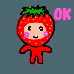16種類の果物ちゃん