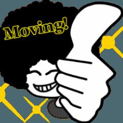 Moving! ニシシ