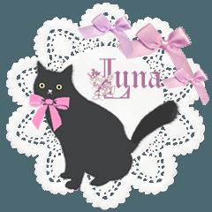 黒猫のルナ 英語Ver.