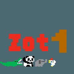 ZOT1(動く小さなドットの動物園)