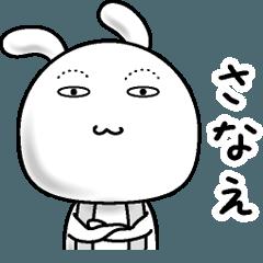 【さなえ】すっぴんうさぎ