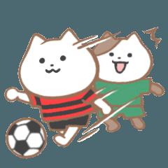 サッカーねこ