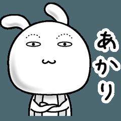 【あかり】すっぴんうさぎ
