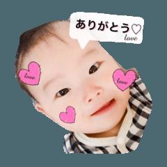 りっくん オリジナルスタンプNo.1