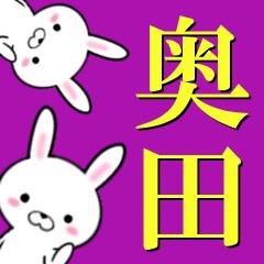 超★奥田(おくだ・おくた)なウサギ