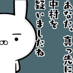 中村さんの為の容疑者ウサギ