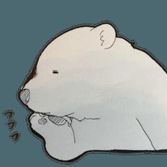 [LINEスタンプ] ゆるめのクマ(ときどきリアル)