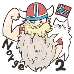 モフっとノルウェー語2
