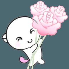 ゆる敬語で愛をつかめ福猫の桜ちゃんが応援