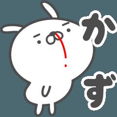 あおいぷん★かず★専用うさぎ☆鼻血