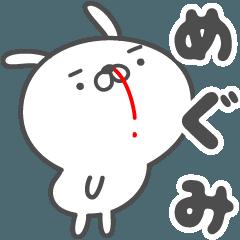 あおいぷん★めぐみ★専用うさぎ☆鼻血