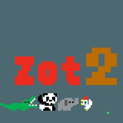 ZOT2(動く小さなドットの動物園)