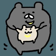 [LINEスタンプ] ツキノワグマ3