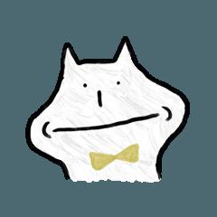 [LINEスタンプ] 蝶ネクタイの猫