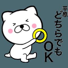 【平原】が使う主婦が作ったデカ文字ネコ
